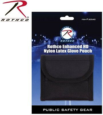 Policesecurity Ems Enhanced Emt Latex Glove Pouch Hook Loop Rothco 20540
