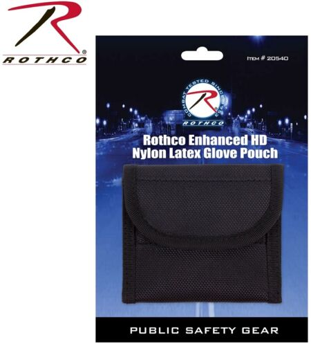 Glove Pouch EMS Deluxe Police Duty Belt Nylon Latex Glove Pouch Rothco 20540