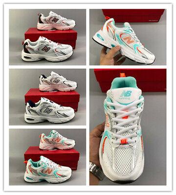 New Balance 530 Retro Running Shoes Mesh Sneakers - White