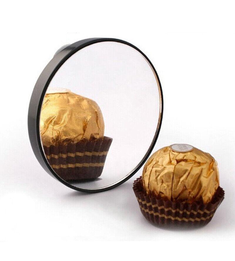 15 Fach Vergrößerungsspiegel mit Saugnapf Kosmetikspiegel 85 mm Spiegel Mirror