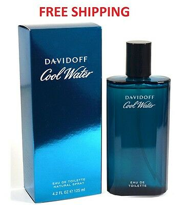 COOL WATER * Davidoff * Cologne for Men * 4.2 oz * BRAND NEW IN BOX