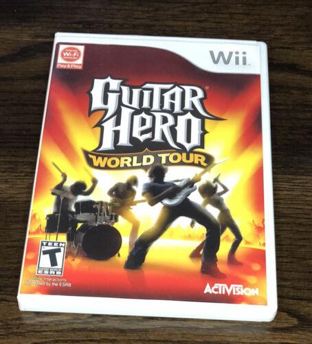 Guitar Hero World Tour Nintendo Wii, 2008 Tested, No Manual - $8.99