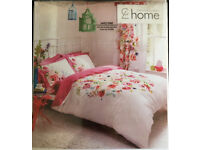 Designer Gorgeous Floral Watercolour Pattern King Duvet Set