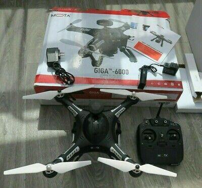 Mota Giga 6000 RC Quadcopter GPS Full Set Up / Racing Drone Quanum Nova