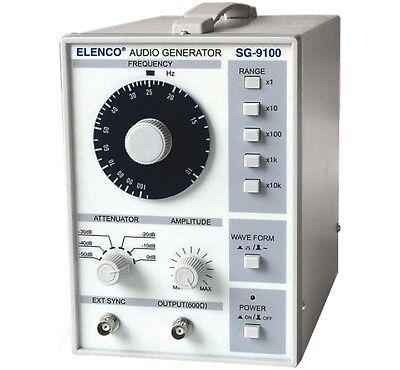 Audio Signal Generator Model Sg9100