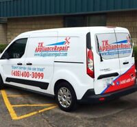 Mississauga & Brampton Appliance Repair - LOW RATES!