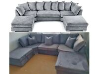 ORDER NOW NEW U-SHAPE 6 SEATER CORNER SOFA AVAILABLE NOW IN STOCK