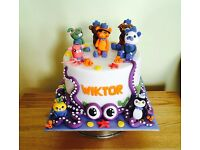 Cakes for all occasions (wedding, birthday, baby shower, holly communion...)