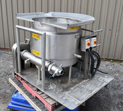 60 Gallon Jacketed Tank With Mixer And Auger Feeder