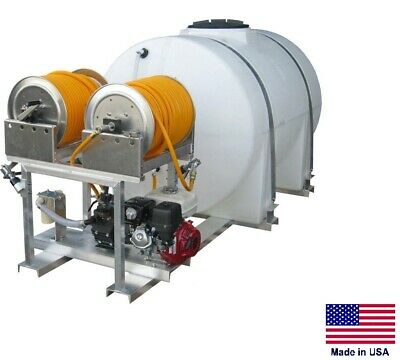 Sprayer Commercial - Skid Mounted - Dual User 15 Gpm - 560 Psi - 535 Gallon Tank