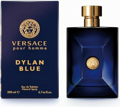 Versace Pour Homme Dylan Blue 200ml EDT SPRAY - BRAND NEW & SEALED