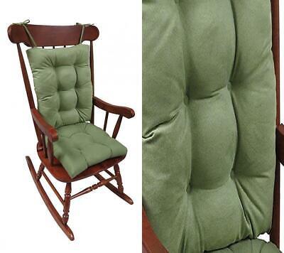 Klear Vu The Gripper Non-Slip Rocking Chair Cushion Set Honeycomb, Grass