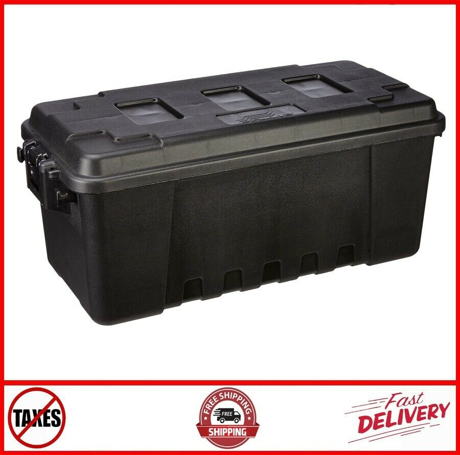 Large Storage Heavy Duty Trunk Box Tote Locker Case Containe