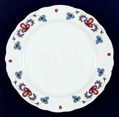 Porsgrund FARMERS ROSE (GOLD TRIM) Dinner Plate 1196687