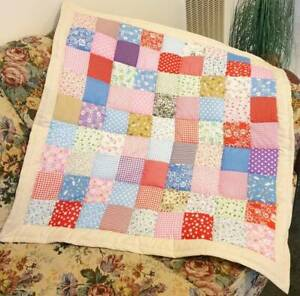 Brand New Patch work Quilt / Throw rug (#PQ02)