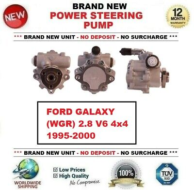 Brand New POWER STEERING PUMP for FORD GALAXY (WGR) 2.8 V6 4x4 1995-2000 for sale  Shipping to Ireland