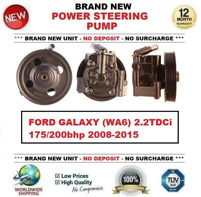 Brand New POWER STEERING PUMP for FORD GALAXY (WA6) 2.2TDCi 175/200bhp 2008-2015 for sale  Shipping to Ireland