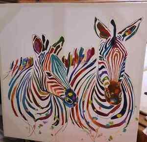 Zebra canvas prints Lakelands Lake Macquarie Area Preview