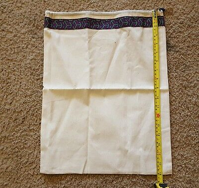 "Tory Burch Dust Bag Drawstring 18""L x 13.5""W."