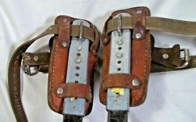 Buckingham Pole Tree Gaff Spike Adjustable Climbers 9023 Bashlin 130 D Pads Set