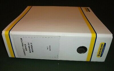 New Holland Boomer 30 35 Compact Tractor Service Shop Repair Workshop Manual