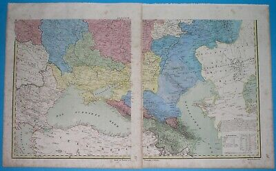 115 yrs old chart 1906 ST Kronstadt Gulf of Finland Russian Empire Saint Petersburg PETERSBURG and its SURROUNDINGS Antique Dated Map