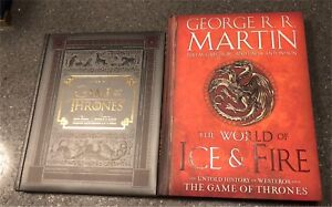Game of Thrones Collector Books  ($25 for the set)
