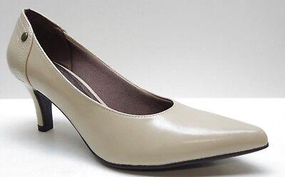 LifeStride Beige Pointed Toe Career Dress Pumps Heels 6.5M 6.5 NEW