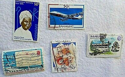 BAHAMAS   a small collection of stamps, used and franked