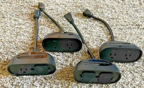 Set of 4 TP-LINK KP400 Kasa Smart WiFi Outdoor Plug