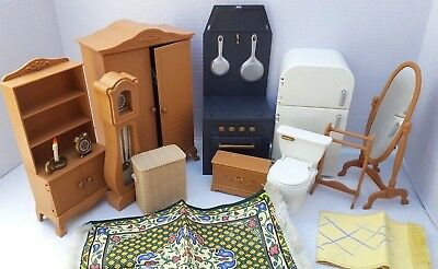 Madeline Dollhouse Doll House Furniture Living Room Kitchen Bedroom Acc.  LOT For Sale Bentonville