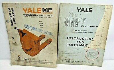 Yale Mp Worksaver Pallet Truck 4000 6000 Parts Manual And Midget King Parts
