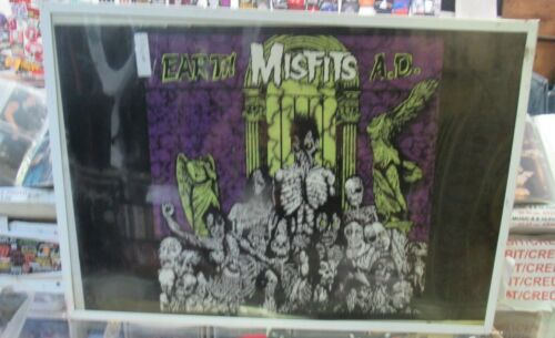MISFITS POSTER NEW 2002  RARE VINTAGE COLLECTIBLE OOP  DANZIG