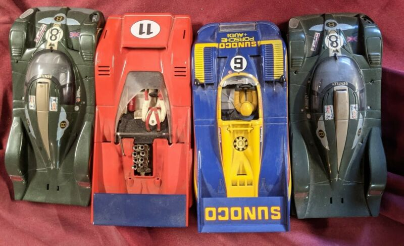 Can Am Paul Newman McLaren  Donohue Porsche  1/32 SLOT Car  Carrera  4 car lot