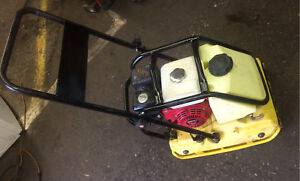 Plate Tamper / Compactor - Honda GX-160 engine