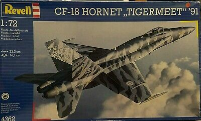 RARE Revell 1:72 CF-18 HORNET TIGERMEET 4362