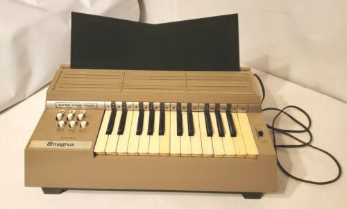 Vintage Magnus Portable Electric Chord Organ Model 360 Collectible Instrument