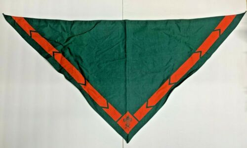 Boy Scouts of America Green with Red Neckerchief Scarf
