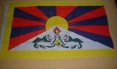 Tibet Flagge Fahne Hißflagge Hissfahne 150 x 90 cm