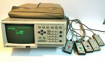 Hp 1630a Logic Analyzer With Pods 0-4 And Power Cord