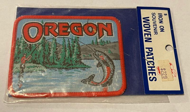 Vintage Sealed OREGON Souvenir Patch