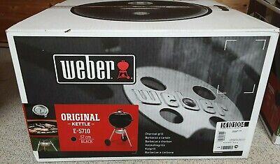 Weber Original Kettle E-5710 Holzkohlegrill Kugelgrill Ø 57cm schwarz 14101004