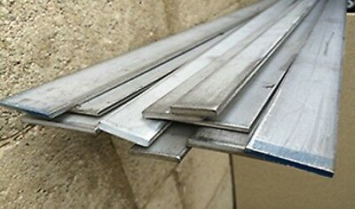Alloy 304 Stainless Steel Flat Bar - 38 X 3 X 24