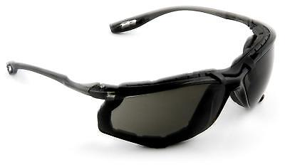 3M 11873 Virtua CCS Protective Eyewear with Foam Gasket, GRAY Anti-Fog -
