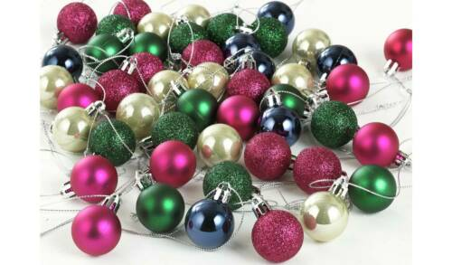 49+Pack+Enchanted+Christmas+Baubles+Multicolored+Best+For+Christmas+Decoration