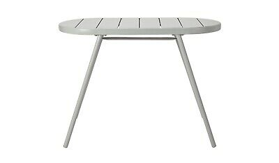 Oval Bistro Table - Grey
