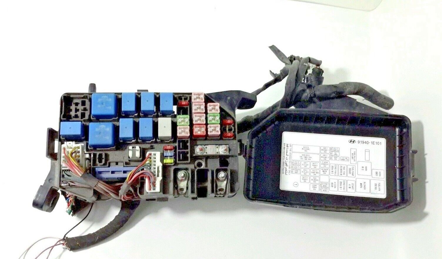 Used Hyundai Engine Computers For Sale Page 3 Excel Fuse Box 2006 2011 Accent Under Hood Bay Relay 91218 1e231 Oem