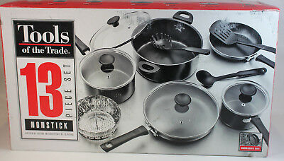 Tools of the Trade Nonstick 13-Piece Cookware Set -