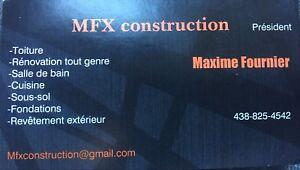 Construction & rénovation charpentier menuisier