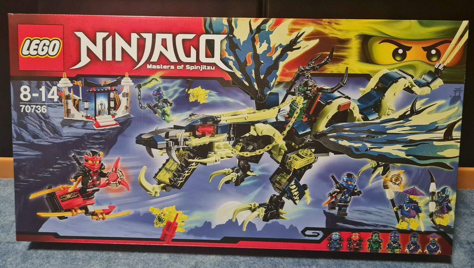 Lego Ninjago 70736 Angriff des Moro-Drachen
